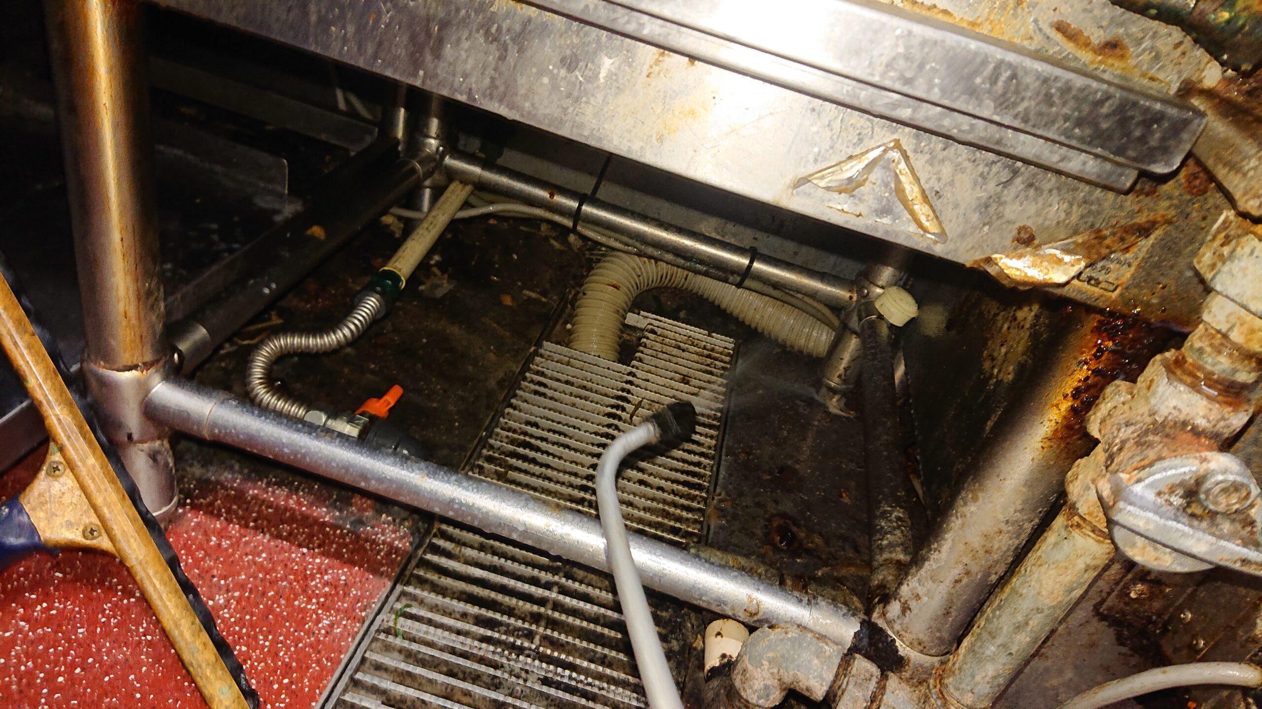 東京都荒川区の飲食店でのゴキブリ駆除:施工後
