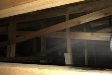 千葉県印西市のA様のコウモリ駆除