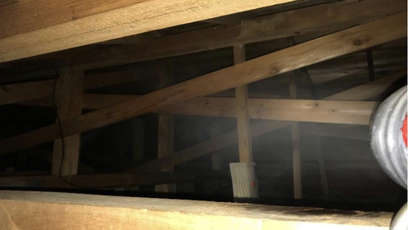 千葉県印西市のA様のコウモリ駆除:施工後