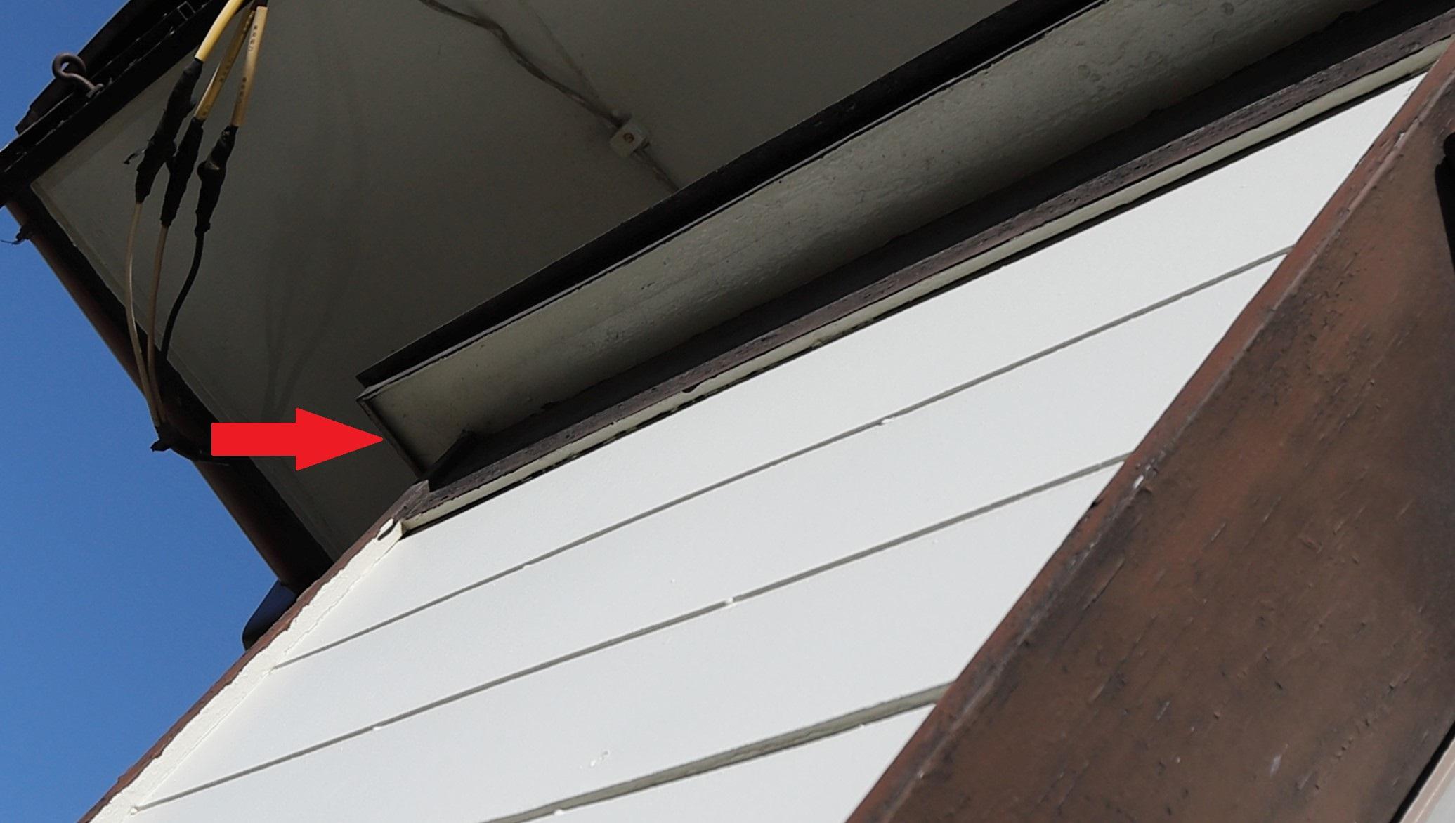 千葉県印西市のA様のコウモリ駆除:施工前