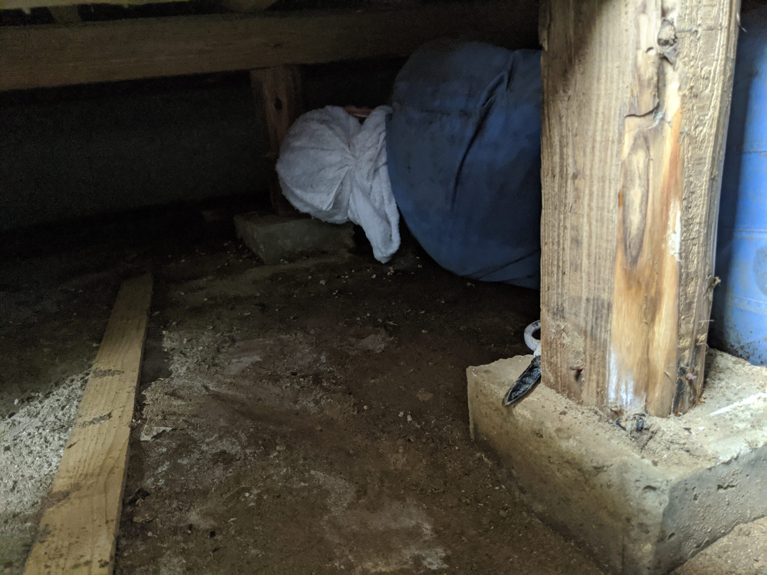 千葉県我孫子市のk様の湿気対策:施工前