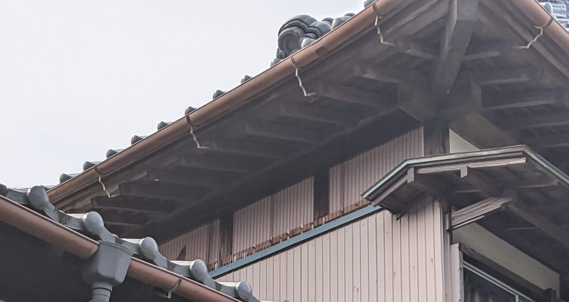 千葉県長生郡のスズメバチの駆除:施工後