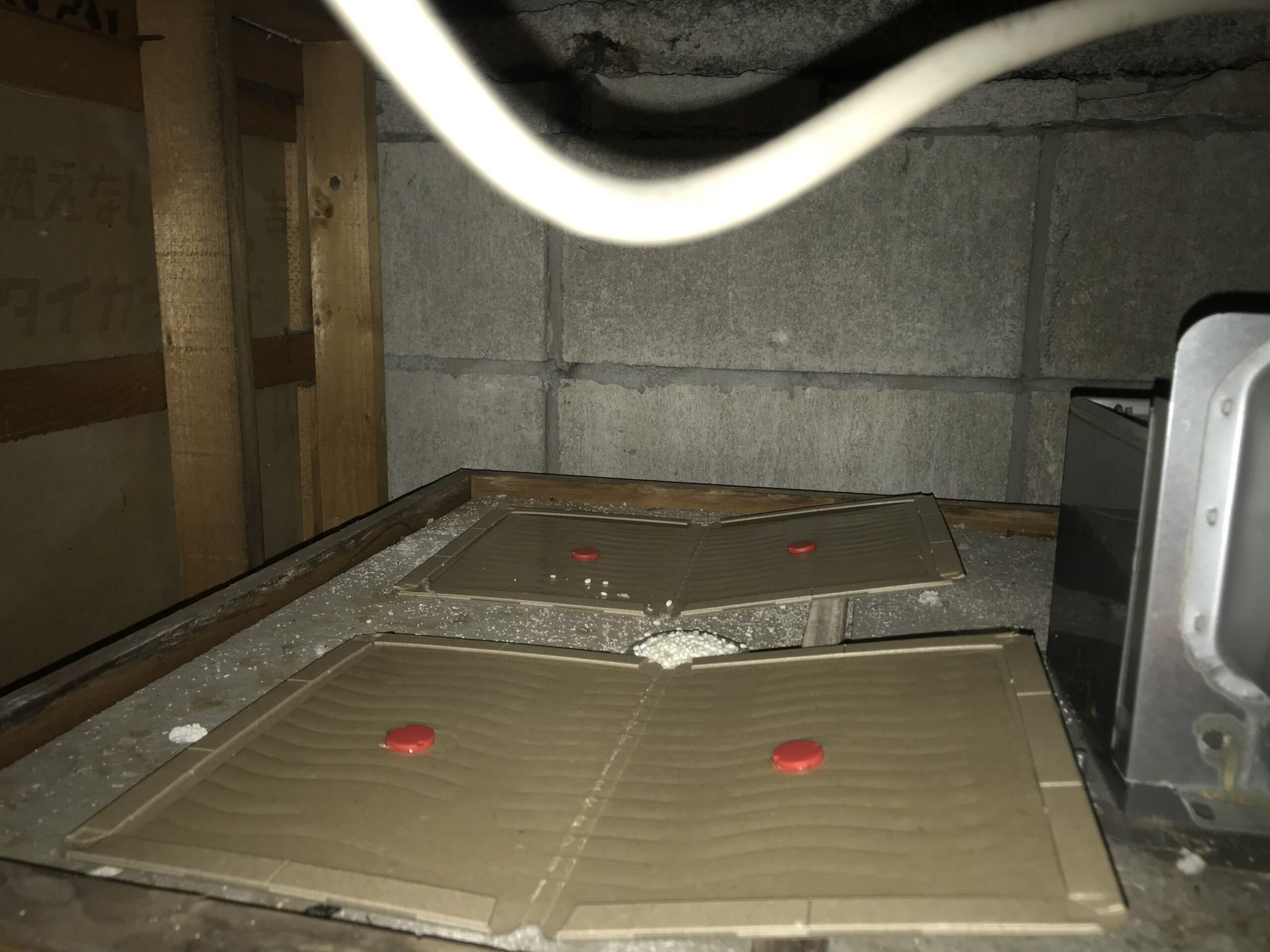 千葉県船橋市のK様のネズミ駆除:施工後